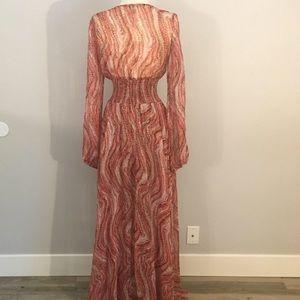 Long maxi Arden B maxi dress.